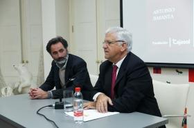 """Conferencia de Antonio Basanta 'Las claves ocultas del Belén' en la Fundación Cajasol (8) • <a style=""""font-size:0.8em;"""" href=""""http://www.flickr.com/photos/129072575@N05/38185623255/"""" target=""""_blank"""">View on Flickr</a>"""