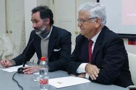 """Conferencia de Antonio Basanta 'Las claves ocultas del Belén' en la Fundación Cajasol (11) • <a style=""""font-size:0.8em;"""" href=""""http://www.flickr.com/photos/129072575@N05/38185624595/"""" target=""""_blank"""">View on Flickr</a>"""