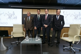 "'El Toreo Contado': Pepe Moral, Eduardo y Antonio Miura (13) • <a style=""font-size:0.8em;"" href=""http://www.flickr.com/photos/129072575@N05/40041153075/"" target=""_blank"">View on Flickr</a>"