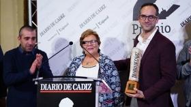 "Entrega del Premio Emilio López 2018 en Cádiz • <a style=""font-size:0.8em;"" href=""http://www.flickr.com/photos/129072575@N05/39811513055/"" target=""_blank"">View on Flickr</a>"