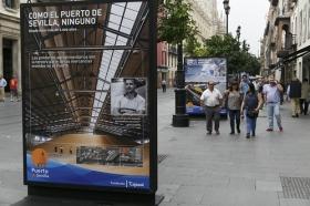 """Exposición 'Como el Puerto de Sevilla, ninguno', en la Avenida de la Constitución (4) • <a style=""""font-size:0.8em;"""" href=""""http://www.flickr.com/photos/129072575@N05/29889682260/"""" target=""""_blank"""">View on Flickr</a>"""