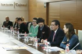 """Presentación de los Gozos de Diciembre 2016 en la Fundación Cajasol (18) • <a style=""""font-size:0.8em;"""" href=""""http://www.flickr.com/photos/129072575@N05/30824614560/"""" target=""""_blank"""">View on Flickr</a>"""
