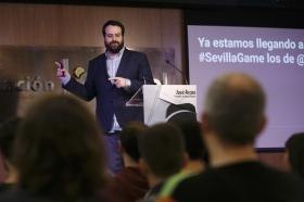 "SevillaGame 2016 desde la Fundación Cajasol (2) • <a style=""font-size:0.8em;"" href=""http://www.flickr.com/photos/129072575@N05/30507167440/"" target=""_blank"">View on Flickr</a>"