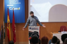 """'I Cumbre de Videojuegos y Medios de Comunicación' (3) • <a style=""""font-size:0.8em;"""" href=""""http://www.flickr.com/photos/129072575@N05/21593682373/"""" target=""""_blank"""">View on Flickr</a>"""