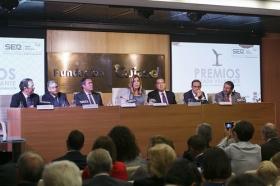 """Entrega de los IV Premios Manuel Losada Villasante en la Fundación Cajasol (17) • <a style=""""font-size:0.8em;"""" href=""""http://www.flickr.com/photos/129072575@N05/30101766073/"""" target=""""_blank"""">View on Flickr</a>"""