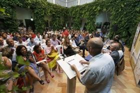 """Inauguración de XIV edición de los Cursos de Verano de la Universidad Pablo de Olavide en Carmona (12) • <a style=""""font-size:0.8em;"""" href=""""http://www.flickr.com/photos/129072575@N05/28047276031/"""" target=""""_blank"""">View on Flickr</a>"""
