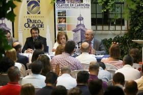 """Inauguración de XIV edición de los Cursos de Verano de la Universidad Pablo de Olavide en Carmona (8) • <a style=""""font-size:0.8em;"""" href=""""http://www.flickr.com/photos/129072575@N05/28022390312/"""" target=""""_blank"""">View on Flickr</a>"""
