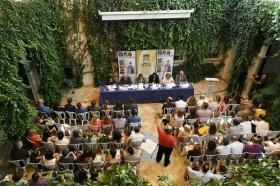 """Inauguración de XIV edición de los Cursos de Verano de la Universidad Pablo de Olavide en Carmona (6) • <a style=""""font-size:0.8em;"""" href=""""http://www.flickr.com/photos/129072575@N05/28047275411/"""" target=""""_blank"""">View on Flickr</a>"""