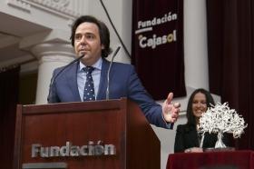 "IV Gala 'Olivo de Plata' en la Fundación Cajasol (7) • <a style=""font-size:0.8em;"" href=""http://www.flickr.com/photos/129072575@N05/15910362243/"" target=""_blank"">View on Flickr</a>"