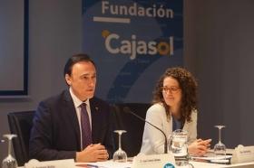 """Conferencia de Santiago Muñoz Machado en la Fundación Cajasol (Córdoba) (9) • <a style=""""font-size:0.8em;"""" href=""""http://www.flickr.com/photos/129072575@N05/26814543820/"""" target=""""_blank"""">View on Flickr</a>"""