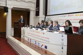 """Jornadas 'El acuerdo de Asociación Centroamérica-UE: una gran oportunidad de negocio para las empresas andaluzas' en la Fundación Cajasol (3) • <a style=""""font-size:0.8em;"""" href=""""http://www.flickr.com/photos/129072575@N05/16303968120/"""" target=""""_blank"""">View on Flickr</a>"""