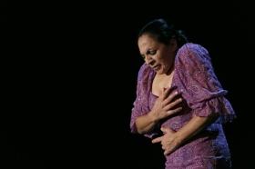 """Actuación de Carmen Cortés en los Jueves Flamencos de la Fundación Cajasol (13) • <a style=""""font-size:0.8em;"""" href=""""http://www.flickr.com/photos/129072575@N05/15381377834/"""" target=""""_blank"""">View on Flickr</a>"""