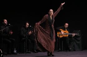 """Actuación de Carmen Cortés en los Jueves Flamencos de la Fundación Cajasol (16) • <a style=""""font-size:0.8em;"""" href=""""http://www.flickr.com/photos/129072575@N05/15817624999/"""" target=""""_blank"""">View on Flickr</a>"""