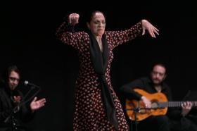 """Actuación de Carmen Cortés en los Jueves Flamencos de la Fundación Cajasol (15) • <a style=""""font-size:0.8em;"""" href=""""http://www.flickr.com/photos/129072575@N05/15817883447/"""" target=""""_blank"""">View on Flickr</a>"""