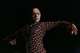 """Actuación de Carmen Cortés en los Jueves Flamencos de la Fundación Cajasol • <a style=""""font-size:0.8em;"""" href=""""http://www.flickr.com/photos/129072575@N05/15381376454/"""" target=""""_blank"""">View on Flickr</a>"""