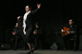 """Actuación de Carmen Cortés en los Jueves Flamencos de la Fundación Cajasol (7) • <a style=""""font-size:0.8em;"""" href=""""http://www.flickr.com/photos/129072575@N05/15977847516/"""" target=""""_blank"""">View on Flickr</a>"""