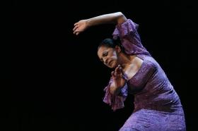 """Actuación de Carmen Cortés en los Jueves Flamencos de la Fundación Cajasol (9) • <a style=""""font-size:0.8em;"""" href=""""http://www.flickr.com/photos/129072575@N05/15384003143/"""" target=""""_blank"""">View on Flickr</a>"""