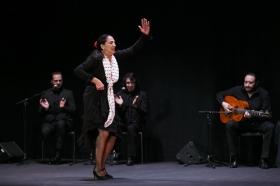 """Actuación de Carmen Cortés en los Jueves Flamencos de la Fundación Cajasol (4) • <a style=""""font-size:0.8em;"""" href=""""http://www.flickr.com/photos/129072575@N05/16001661331/"""" target=""""_blank"""">View on Flickr</a>"""