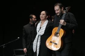 """Actuación de Carmen Cortés en los Jueves Flamencos de la Fundación Cajasol (2) • <a style=""""font-size:0.8em;"""" href=""""http://www.flickr.com/photos/129072575@N05/15384002033/"""" target=""""_blank"""">View on Flickr</a>"""