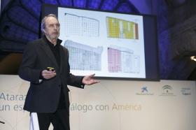 """Presentación de Atarazanas: un espacio de diálogo con América (8) • <a style=""""font-size:0.8em;"""" href=""""http://www.flickr.com/photos/129072575@N05/16058660822/"""" target=""""_blank"""">View on Flickr</a>"""