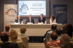 """Conferencia de Santiago Muñoz Machado en la Fundación Cajasol (Córdoba) (5) • <a style=""""font-size:0.8em;"""" href=""""http://www.flickr.com/photos/129072575@N05/26483346344/"""" target=""""_blank"""">View on Flickr</a>"""