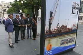 """Exposición 'Como el Puerto de Sevilla, ninguno', en la Avenida de la Constitución (10) • <a style=""""font-size:0.8em;"""" href=""""http://www.flickr.com/photos/129072575@N05/30185240285/"""" target=""""_blank"""">View on Flickr</a>"""