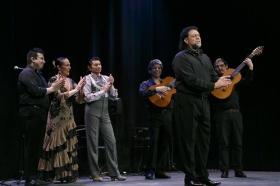 """Jueves Flamencos de la Fundación Cajasol: Toni El Pelao y la Uchi (9) • <a style=""""font-size:0.8em;"""" href=""""http://www.flickr.com/photos/129072575@N05/16112459823/"""" target=""""_blank"""">View on Flickr</a>"""