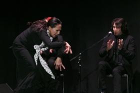 """Actuación de Carmen Cortés en los Jueves Flamencos de la Fundación Cajasol (3) • <a style=""""font-size:0.8em;"""" href=""""http://www.flickr.com/photos/129072575@N05/15817623429/"""" target=""""_blank"""">View on Flickr</a>"""