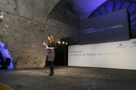 """Presentación de Atarazanas: un espacio de diálogo con América (2) • <a style=""""font-size:0.8em;"""" href=""""http://www.flickr.com/photos/129072575@N05/15871912928/"""" target=""""_blank"""">View on Flickr</a>"""