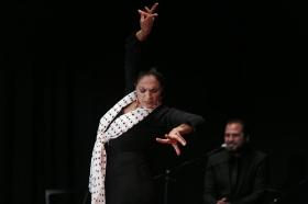 """Actuación de Carmen Cortés en los Jueves Flamencos de la Fundación Cajasol (8) • <a style=""""font-size:0.8em;"""" href=""""http://www.flickr.com/photos/129072575@N05/16003619465/"""" target=""""_blank"""">View on Flickr</a>"""