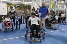 "Torneo de pádel en silla de ruedas en Club Santé (9) • <a style=""font-size:0.8em;"" href=""http://www.flickr.com/photos/129072575@N05/16627192137/"" target=""_blank"">View on Flickr</a>"