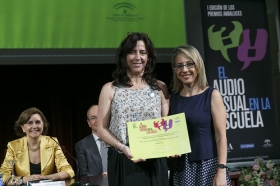 "I Premios Andaluces 'El Audiovisual en la Escuela' en la Fundación Cajasol (15) • <a style=""font-size:0.8em;"" href=""http://www.flickr.com/photos/129072575@N05/18489266262/"" target=""_blank"">View on Flickr</a>"