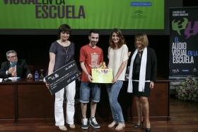 "I Premios Andaluces 'El Audiovisual en la Escuela' en la Fundación Cajasol (20) • <a style=""font-size:0.8em;"" href=""http://www.flickr.com/photos/129072575@N05/17870932824/"" target=""_blank"">View on Flickr</a>"