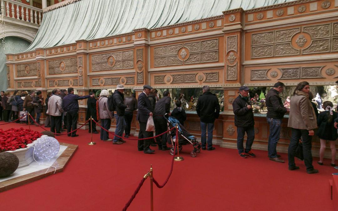 15.000 personas han visitado ya el Belén de la Fundación Cajasol en Sevilla