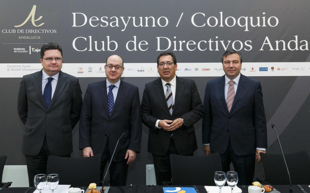 Nueva sesión del Club de Directivos Andalucía, con ponencia de José María Roldán Alegre