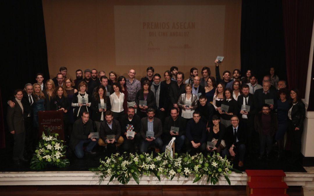 La Fundación Cajasol acoge la entrega de los Premios Asecan del Cine Andaluz 2015