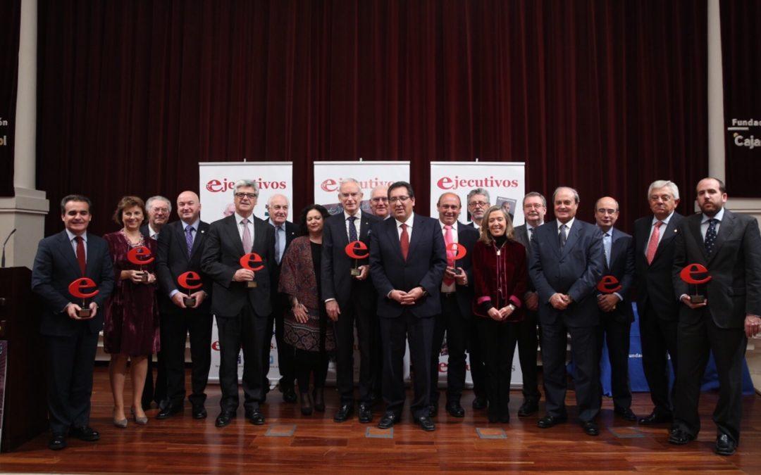 Entrega de los X Premios ejecutivos de Andalucía en la Fundación Cajasol