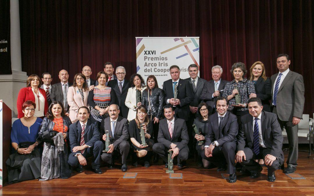 Entrega de los XXVI Premios Arco Iris del Cooperativismo