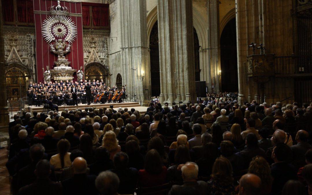 Excelente representación del Miserere de Hilarión Eslava en la Catedral de Sevilla