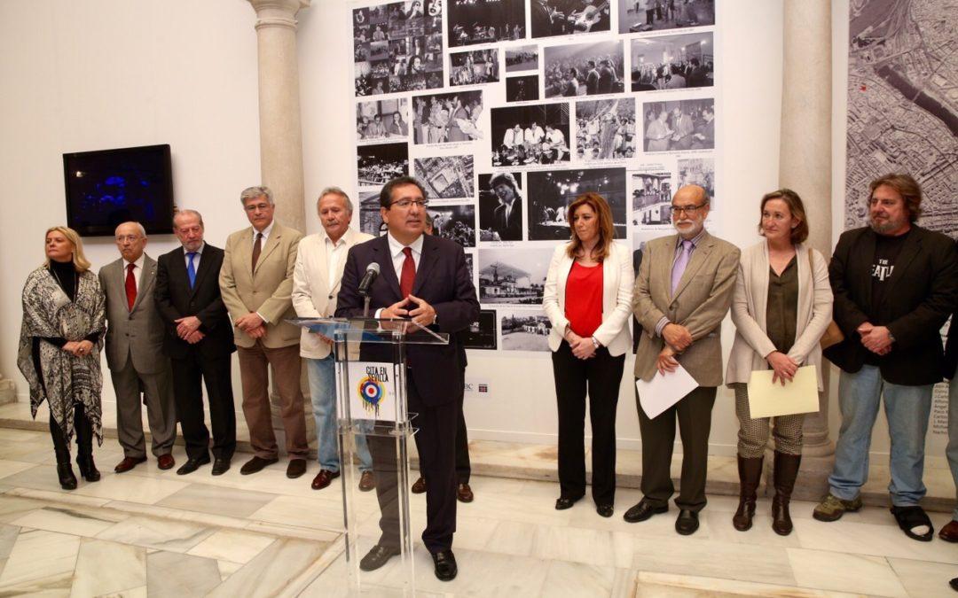 Exposición sobre los 30 años de 'Cita en Sevilla' con una muestra homenaje en la Fundación Cajasol