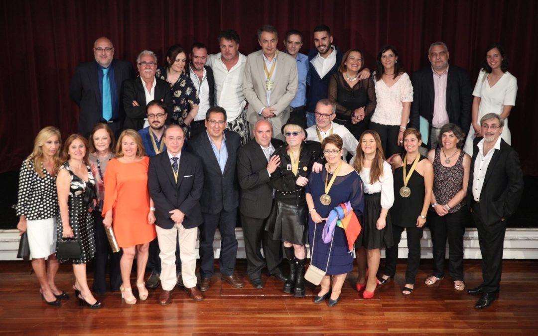 IV Entrega de Premios Adriano Antinoo en la Fundación Cajasol