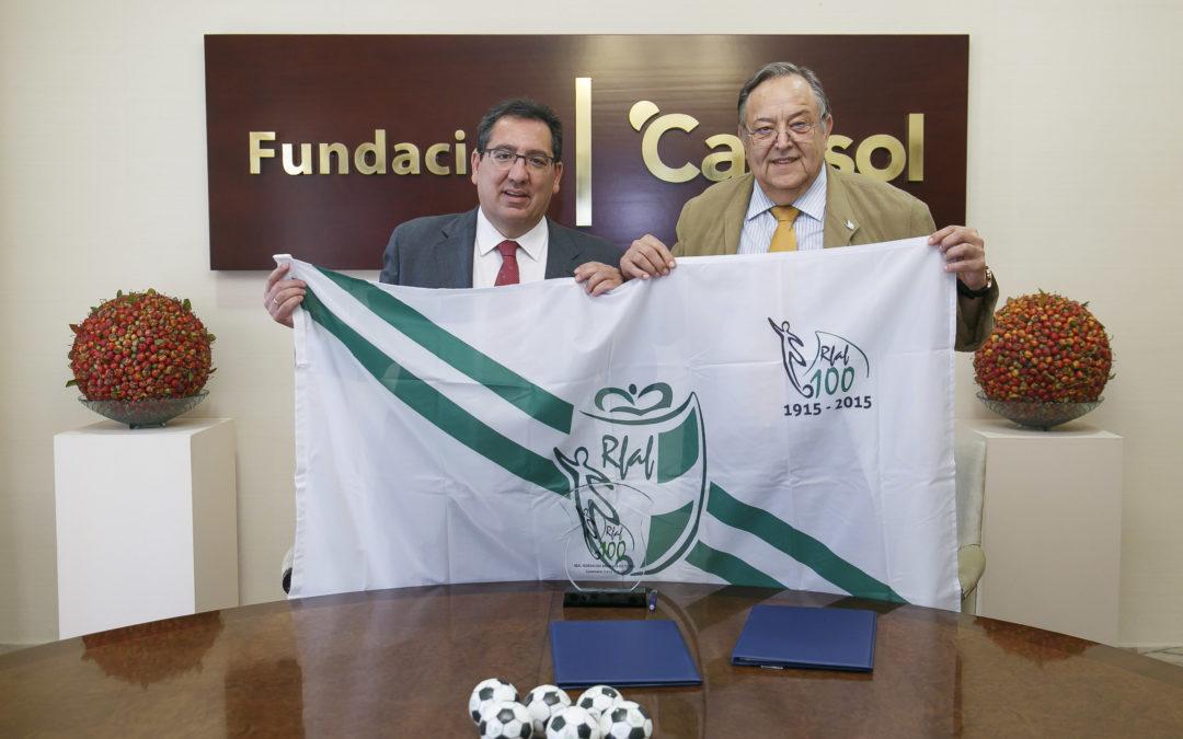 La Fundación Cajasol se vuelca con la RFAF en el año de su Centenario