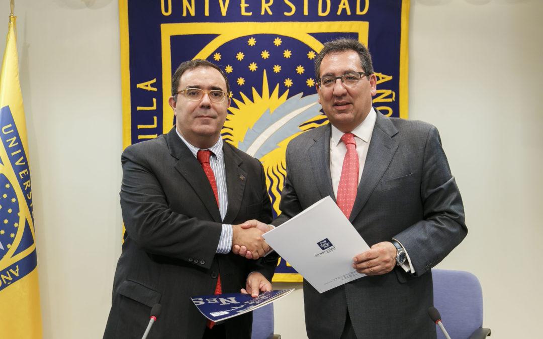 Fundación Cajasol y Universidad Pablo de Olavide consolidan la colaboración que vienen desarrollando desde el año 2006