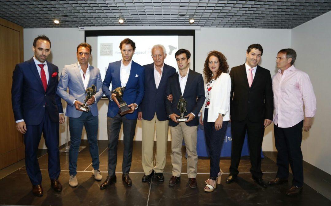 Entrega de los I Trofeos Taurinos 'Feria de la Salud' en la sede cordobesa de la Fundación Cajasol