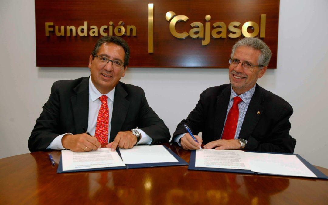 La Fundación Cajasol y Rabanales 21 firman un convenio para la promoción de la innovación en el sector empresarial de la provincia de Córdoba
