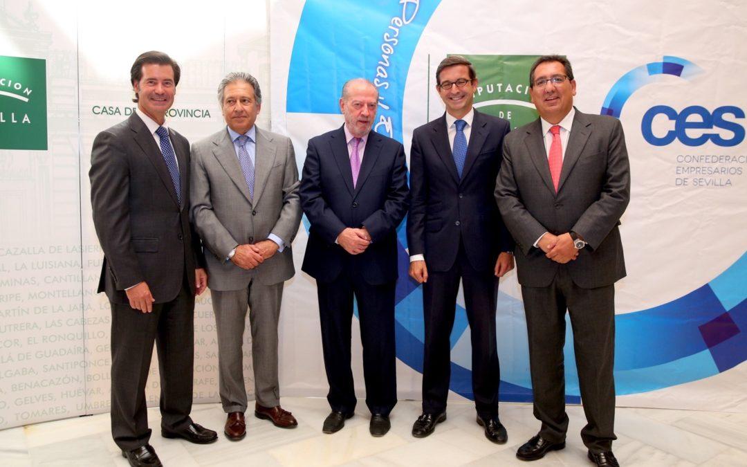 Antonio Pulido participa en la entrega de los III Premios de Responsabilidad Social Empresarial 2015