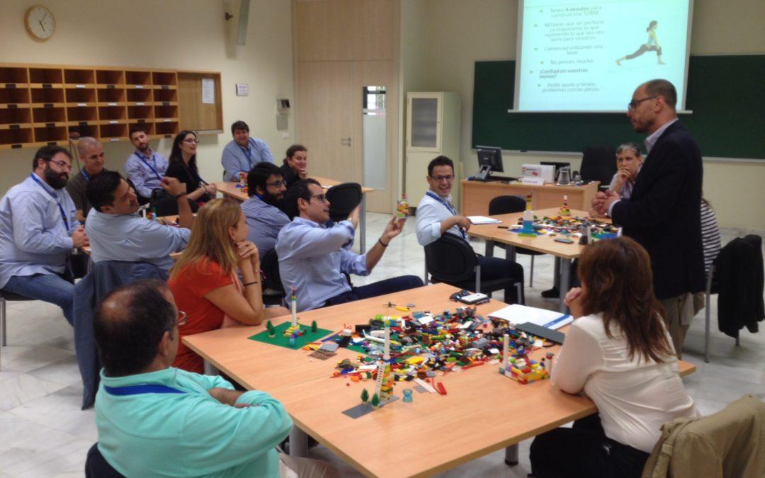 El Instituto de Estudios Cajasol celebra la 6ª Jornada de Proyectos Exitosos con Lego Serious Play
