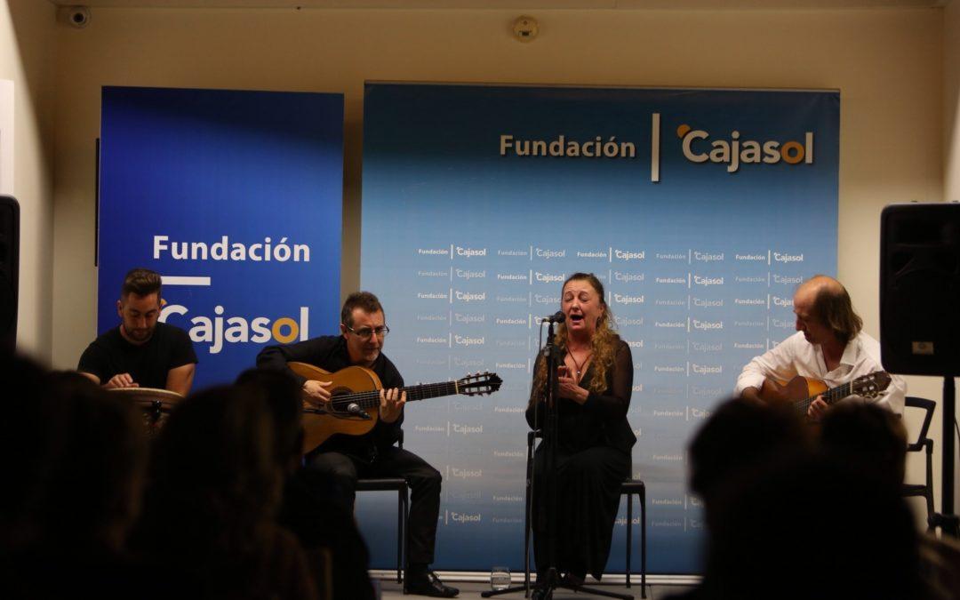 Angelita 'la del Lito' inaugura el nuevo ciclo de 'Viernes Flamencos' de la Fundación Cajasol