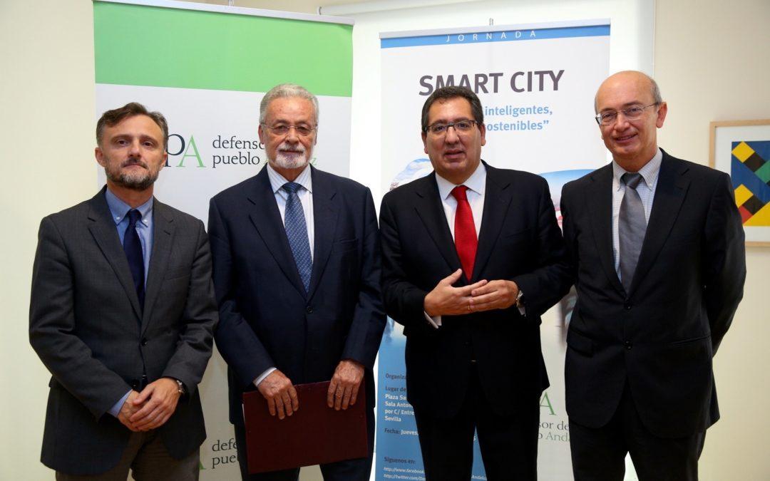 La oficina del Defensor del Pueblo Andaluz organiza la jornada 'Ciudades Inteligentes, Ciudades Sostenibles' en la Fundación Cajasol