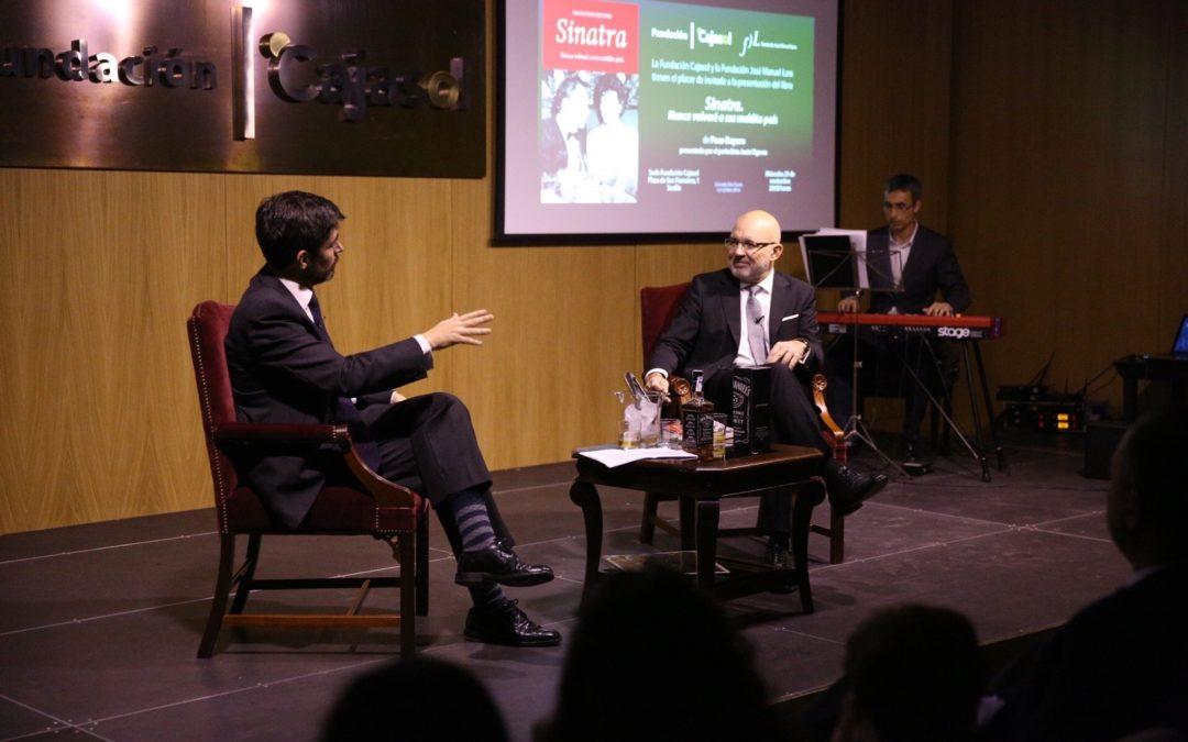 Presentación del libro 'Sinatra. Nunca volveré a ese maldito país', de Paco Reyero, en la Fundación Cajasol